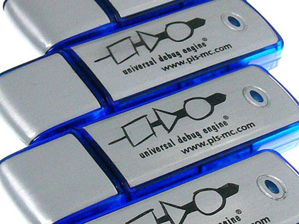 Werbeartikel USB-Stick Universal Debug Engine Logo bedruckt
