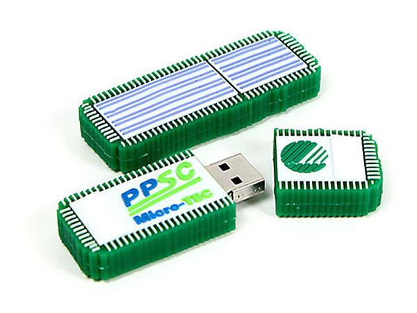 Wischmopp mit Logo as USB-Stick