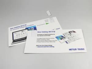 Paper USB Mailingkarte