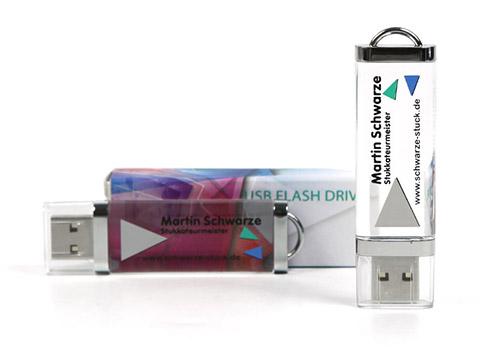 Jaguar Werbeartikely USB-Stick mit crystal Gehäuse