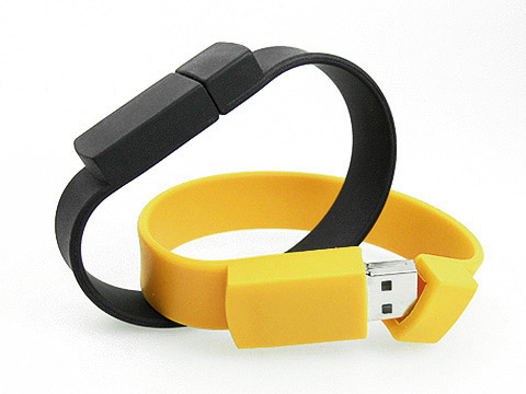 Gummi Armband USB-Stick