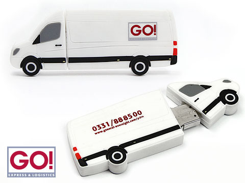 Geiger Krantechnik Transporter USB-Stick mit Logo