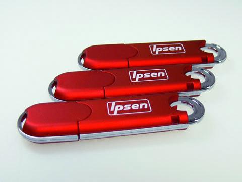 Kunststoff USB-Stick mit Logodruck Siebdruck