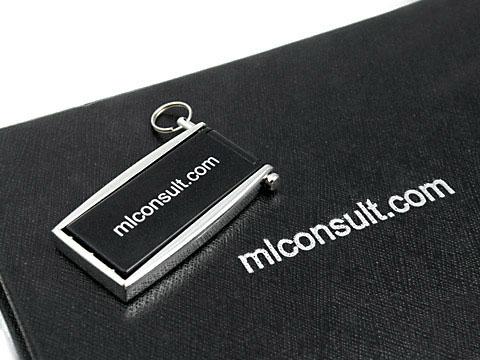 ml consult mini USB-Stick mit Geschenkverpackung