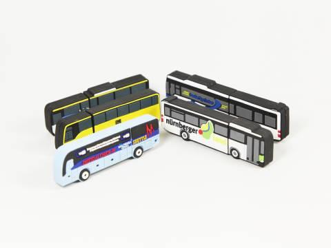 usb busse mit logo