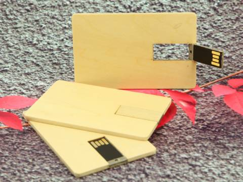 USB Holzkarte