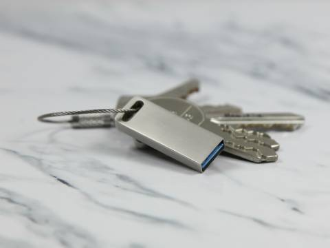 usb mini gentle keyring