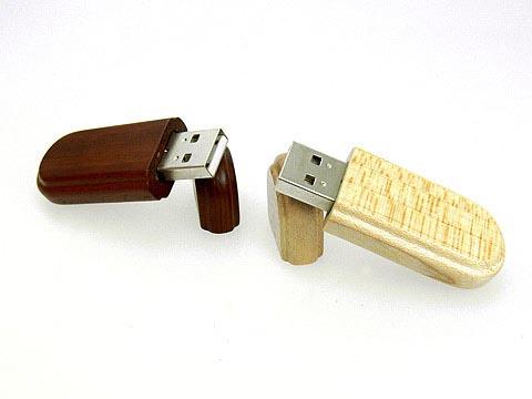 USB-Stick aus umweltfreundlichen Holz Materialien mit Logo