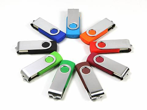 USB Stick Metall.01 - Twister