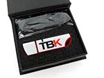 TBK Alu USB Stick in Geschenkverpackung