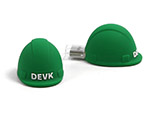 DEVK Versicherung Bauhelm USB-Stick mit Logo