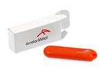 Arcelor Mittal günstiger Kunststoff USB-Stick mit Logo bedruckt
