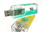 Werbeartikel Liquid USB-Sticks