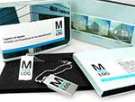 Mini USB-Stick mit Aufdruck und spezieller Verpackung