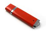 Verchromter Kunststoff USB-Stick mit Logogravur für den wiederverkauf