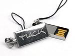 Kleiner Nano Piccolo USB-Stick mit Lasergravur Logo