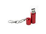 Zylinder Metalll USB-Stick mit Logodruck oder Gravur