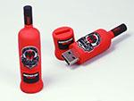Barcardi Rum flasche für Alkohol USB-Stick mit Logo