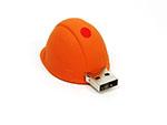 Baustellen Bauhelm mit USB-Stick