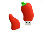 Chili Pepperoni USB-Stick Werbeartikel mit Logo