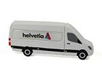 Helvetia Sprinter Transporter USB-Stick mit Logo