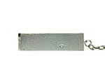 Drehbarer USB-Stick aus Metall mit Bügel aus gebürteten Oberfläche