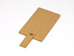 Flache USB-Stick Karte aus umweltfreundlichen PLA