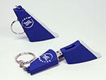 Flugzeug Leitwerk Ruder Flügel als individueller USB-Stick mit Logo für Airlines und Fluggesellschaften