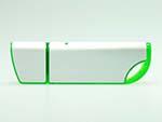 Formschöner Aluminium USB-Stick in grün und anderen Farben