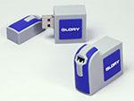 Glory Maschine um Geld zu zählen mit Logo in Wunschform