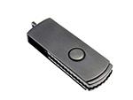 Hochwertiger USB-Stick aus Metall mit Bügel zum drehen