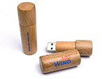 Holz USB-Stick in Lippenstiftform