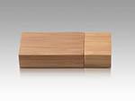 Holz USB Stick mit Tieengravur als Messegeschenke