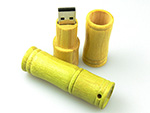 Bambus USB Stick aus Holz mit Logo als Give Away