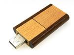 Holz USB Stick mit Logogravur Ökologisch