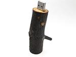 nachhaltiger Holz USB Stick mit Logo für Wiederverkäufer