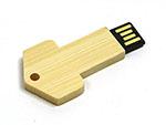 Holz schlüssel Key USB-Stick mit Logodruck