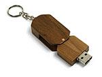 Drehbarer Holz USB-Stick für Wiederverkäufer