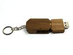 Drehbarer Holz USB-Stick für Reseller