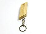 Sportlicher Holz USB-Stick für firmen als Messegeschenk