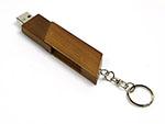 Sportlicher Holz USB-Stick für firmen als Werbegeschenk