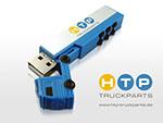 USB-Stick HTTP Truck Parts Logodruck mehrfarbig