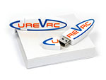 Curevac Custom USB-Stick PVC
