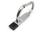 Praktischer Karabiner USB-Stick für Schlüsselringe