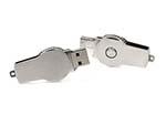 Kleine mini USB-Sticks aus MEtall mit Bügel zum drehen