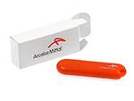 Kunststoff USB-Stick mit Logodruck in Verpackung