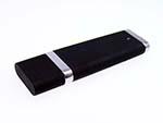 Kunststoff USB-Stick Werbeartikel mit verchromten Elementen