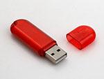 Billiger Kunststoff USB-Stick mit Logo Druck für den Wiederverkauf