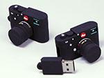 Leica Kamera Kompaktkamera Digitalkamera mit Logo in individueller Form als USB-Stick