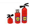 Lidl Feuerlöscher USB-Stick mit Logo als Moulding